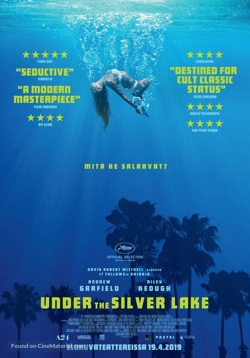 Under the Silver Lake - Finnish Movie Poster