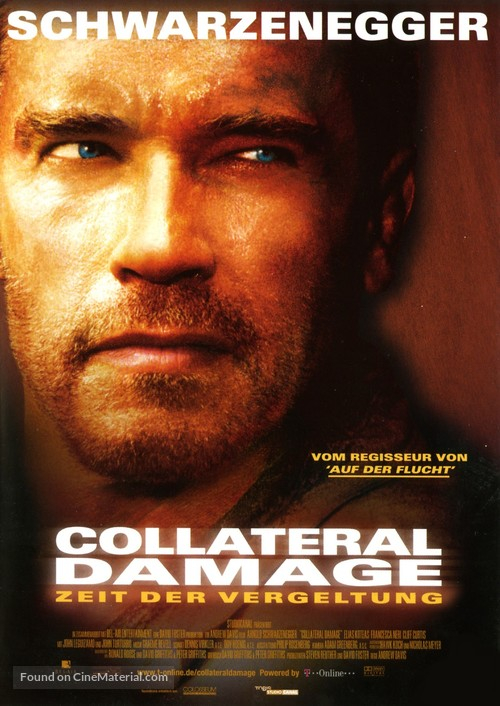 Collateral Damage - German Movie Poster