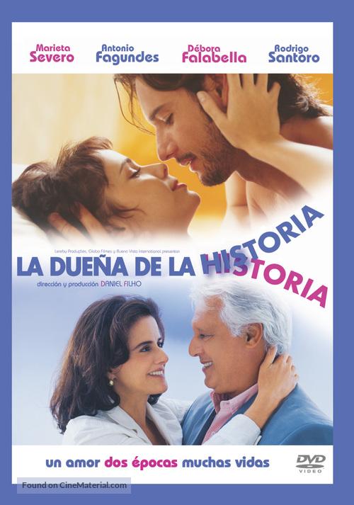 A Dona da História - Argentinian poster