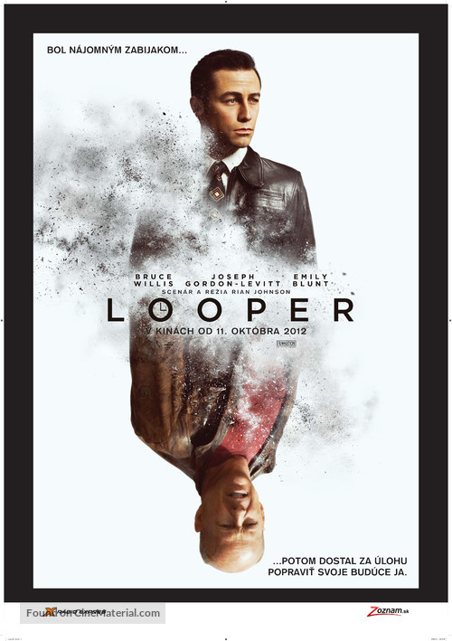 Looper - Slovak Movie Poster