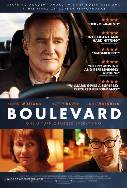 Boulevard - British Movie Poster