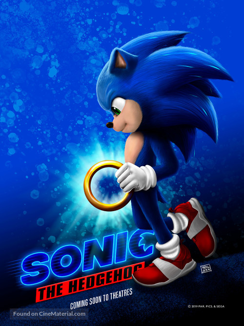 Sonic the Hedgehog (2020) movie poster