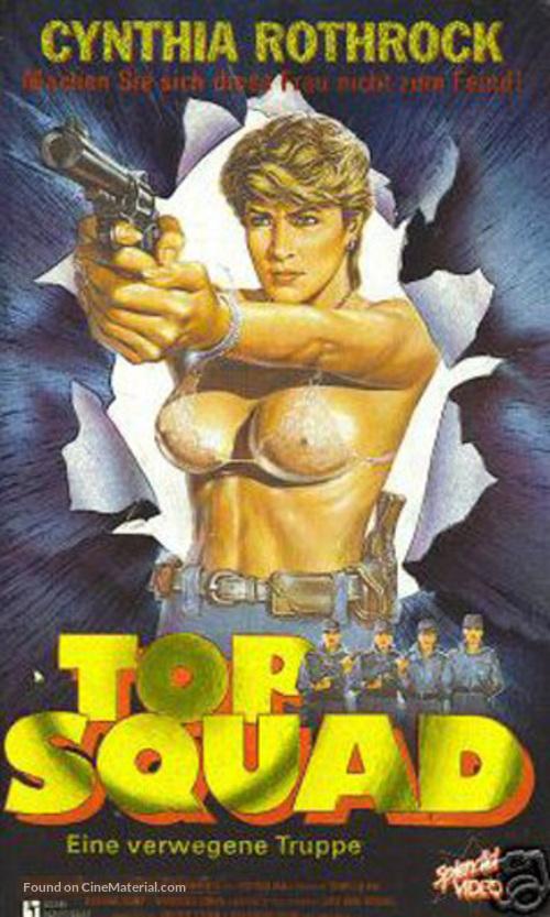 Ba wong fa - German VHS cover