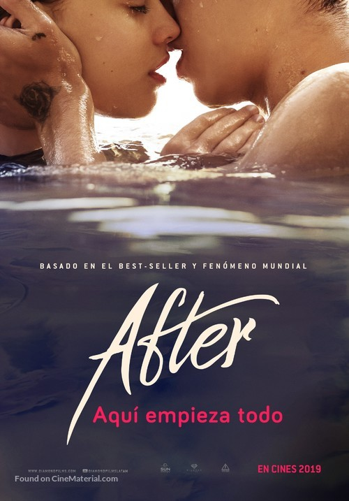 After - Mexican Movie Poster