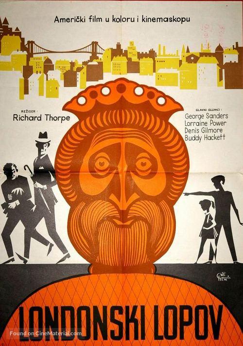 The Golden Head - Yugoslav Movie Poster
