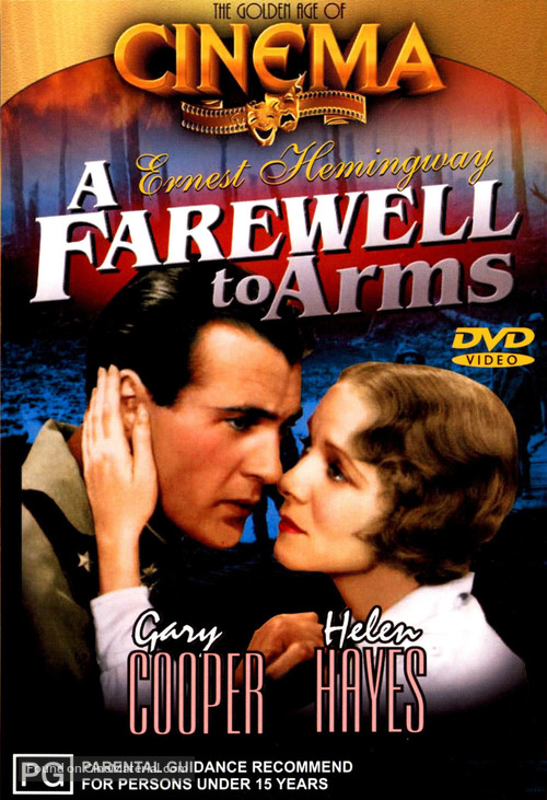 A Farewell to Arms - Australian DVD movie cover