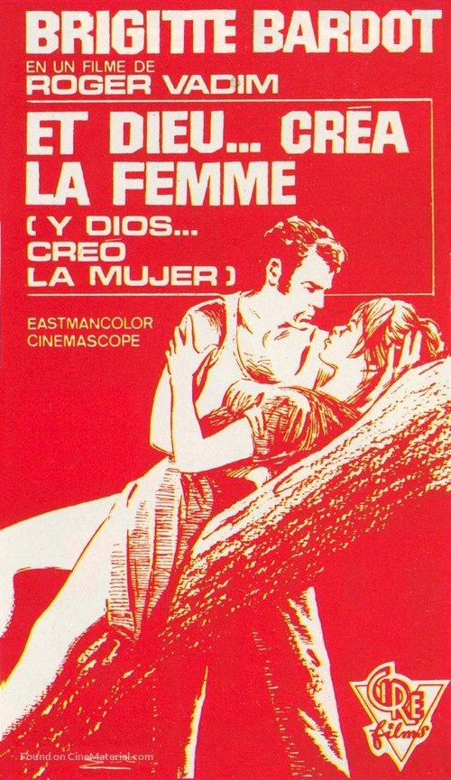 Et Dieu... créa la femme - Spanish Movie Poster
