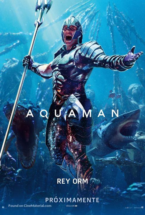 Aquaman - Mexican Movie Poster