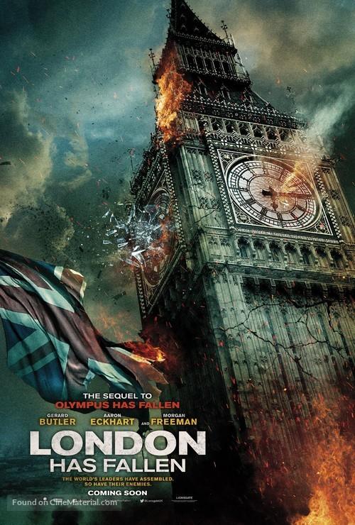 London Has Fallen - British Movie Poster