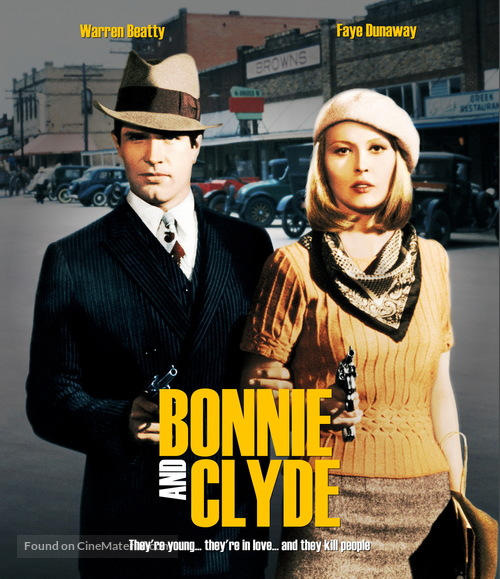 Bonnie and Clyde - Movie Cover