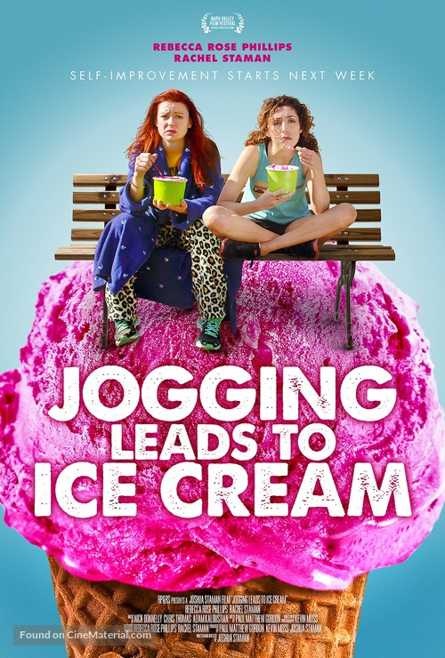 Jogging Leads to Ice Cream - Movie Poster