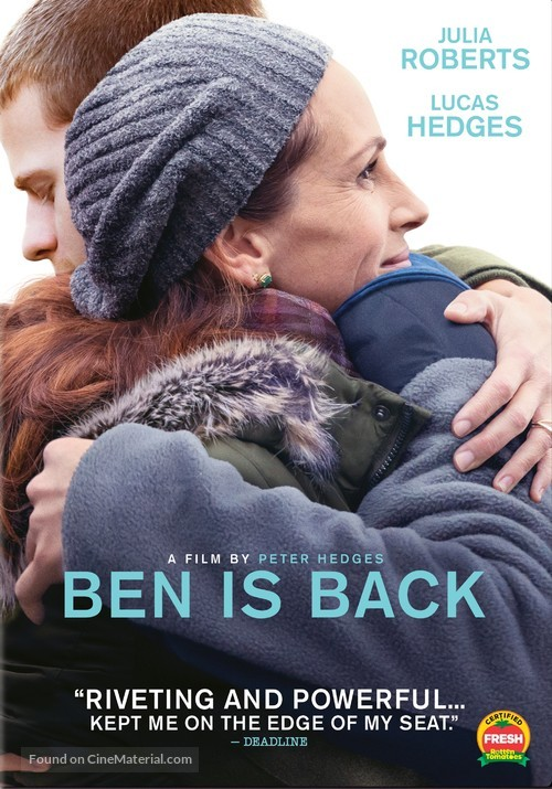 Ben Is Back - DVD movie cover