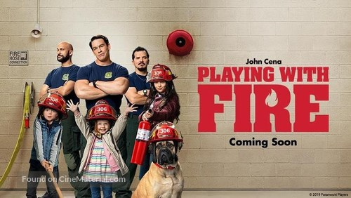 Playing With Fire 2019 Movie Poster