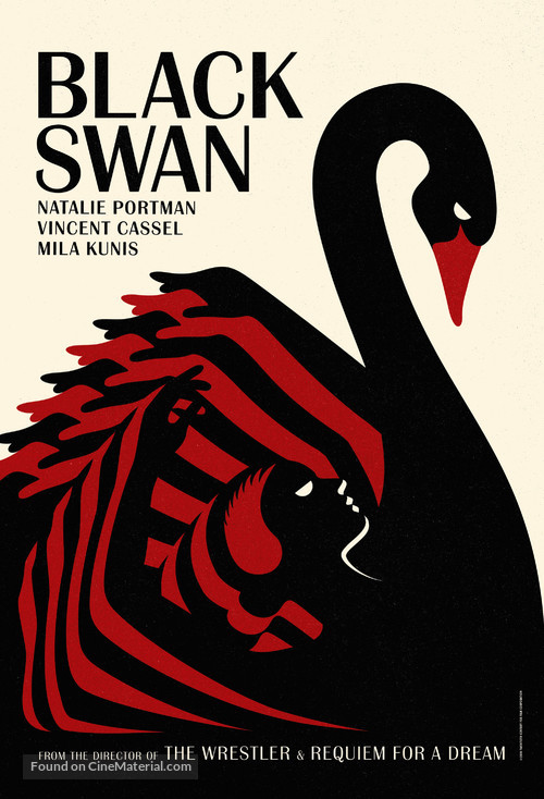 Black Swan - British Movie Poster