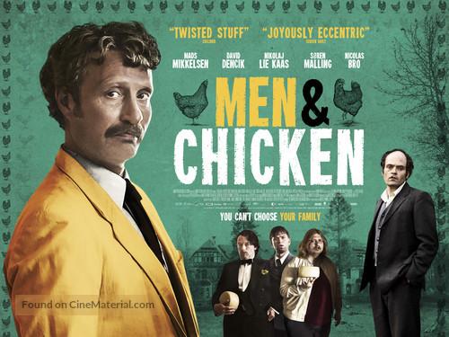 Mænd & høns - British Movie Poster