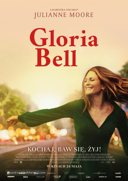 Gloria Bell - Polish Movie Poster