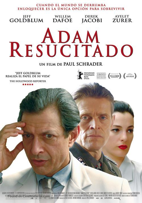 Adam Resurrected - Spanish Movie Poster
