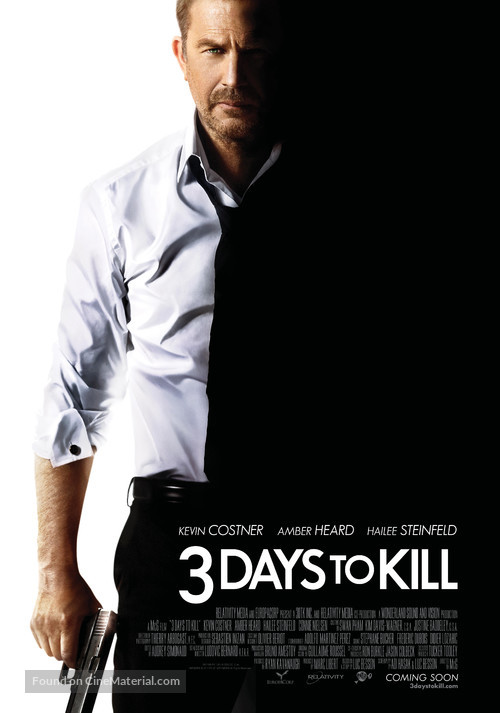 Three Days to Kill - Movie Poster