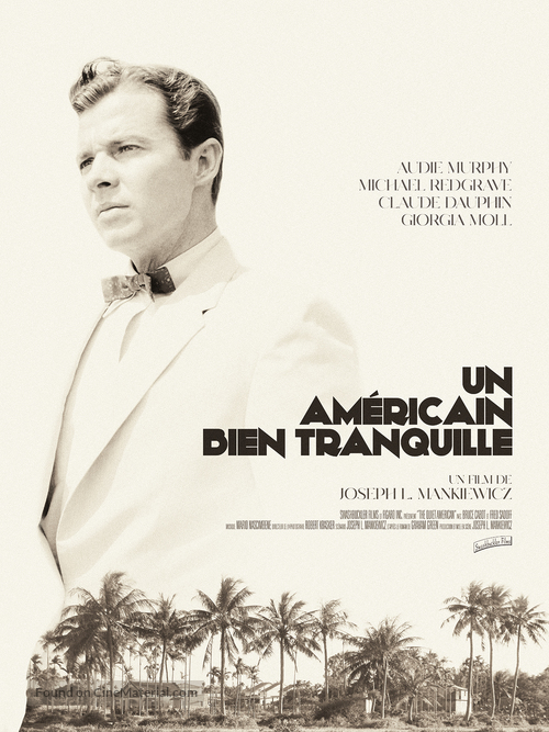 The Quiet American - French Movie Poster