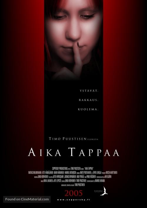 Aika tappaa - Finnish poster