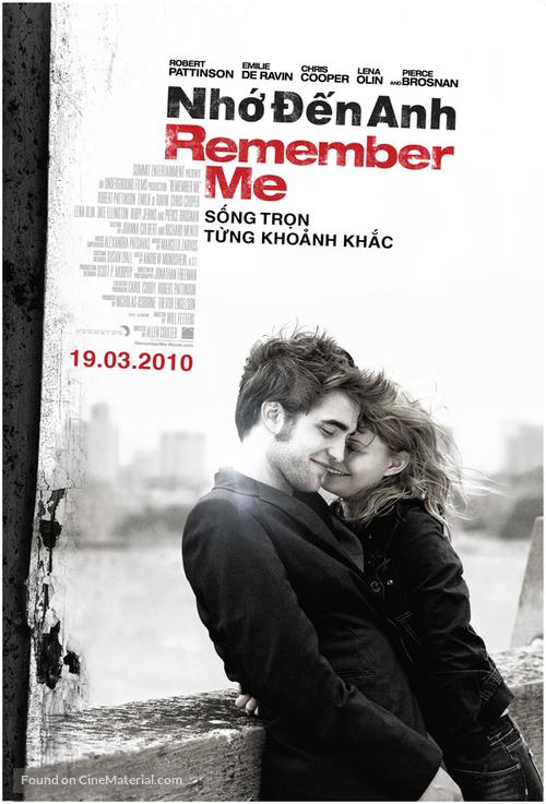 Remember Me - Vietnamese Movie Poster