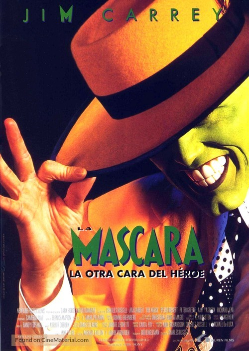 The Mask - Spanish Movie Poster