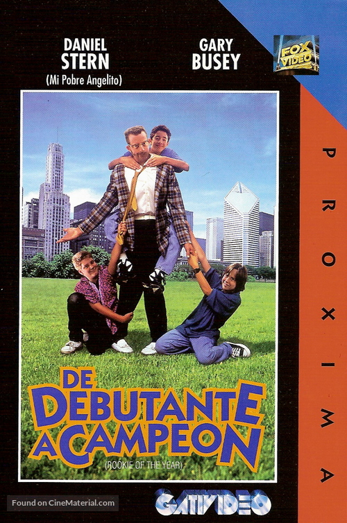 Rookie Of The Year Argentinian Movie Poster