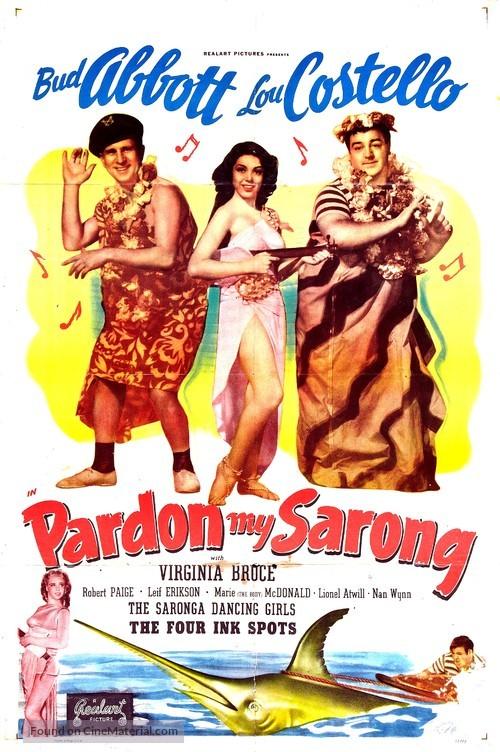 Pardon My Sarong - Movie Poster