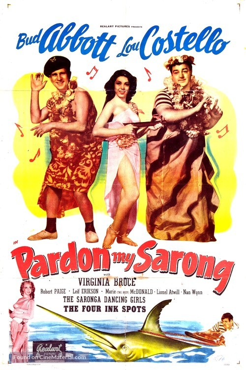 Pardon My Sarong - Movie Poster