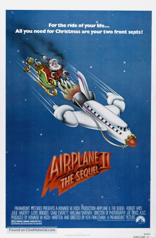 Airplane II: The Sequel - Movie Poster