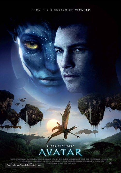 Avatar - Theatrical movie poster