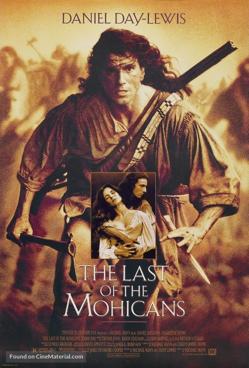 The Last of the Mohicans - Movie Poster