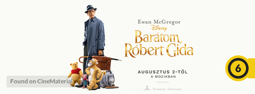 Christopher Robin - Hungarian Movie Cover