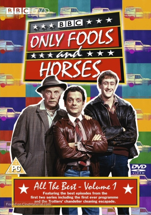 """Only Fools and Horses"" - British DVD movie cover"
