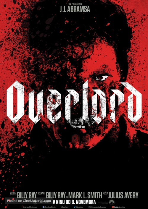 Overlord - Slovenian Movie Poster