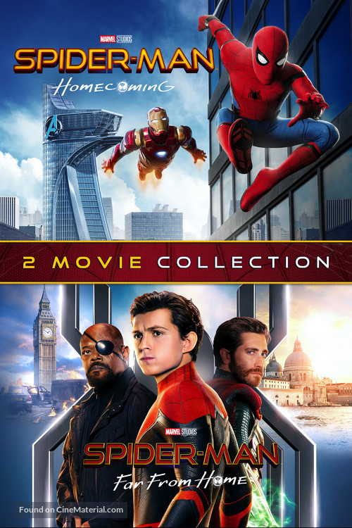 Spider-Man: Far From Home - Movie Cover