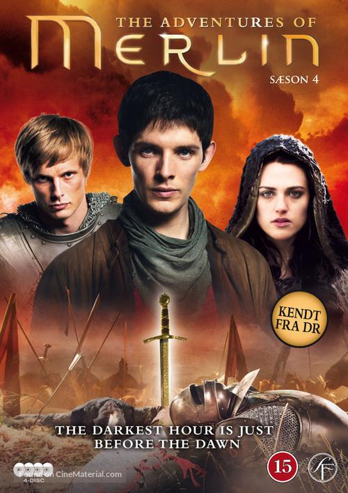"""""""Merlin"""" - Danish DVD cover"""