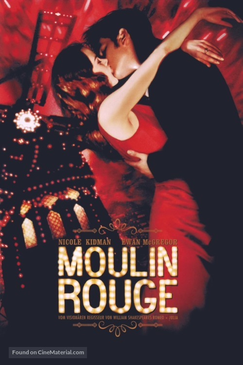 Moulin Rouge - Movie Cover