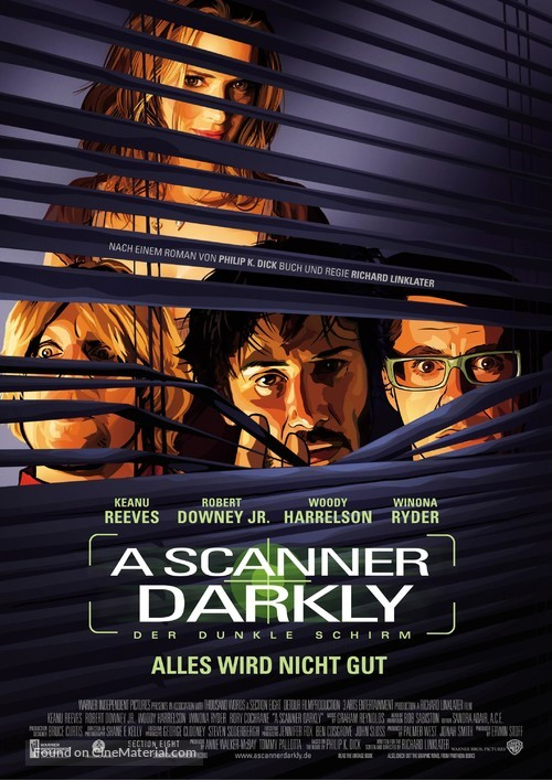 A Scanner Darkly - German Movie Poster