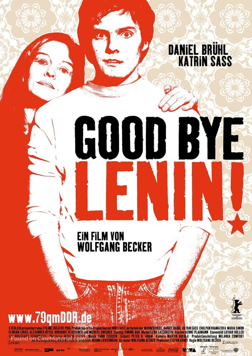 Good Bye Lenin! - German Movie Poster