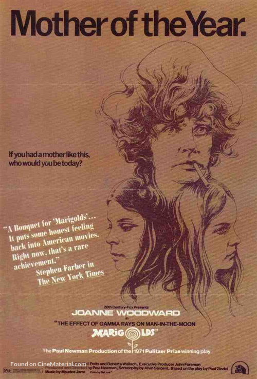 The Effect of Gamma Rays on Man-in-the-Moon Marigolds - Movie Poster