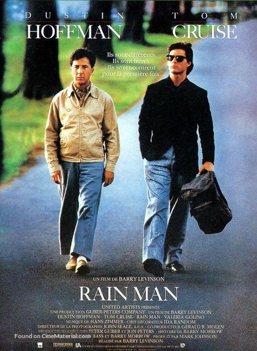 Rain Man - French Movie Poster