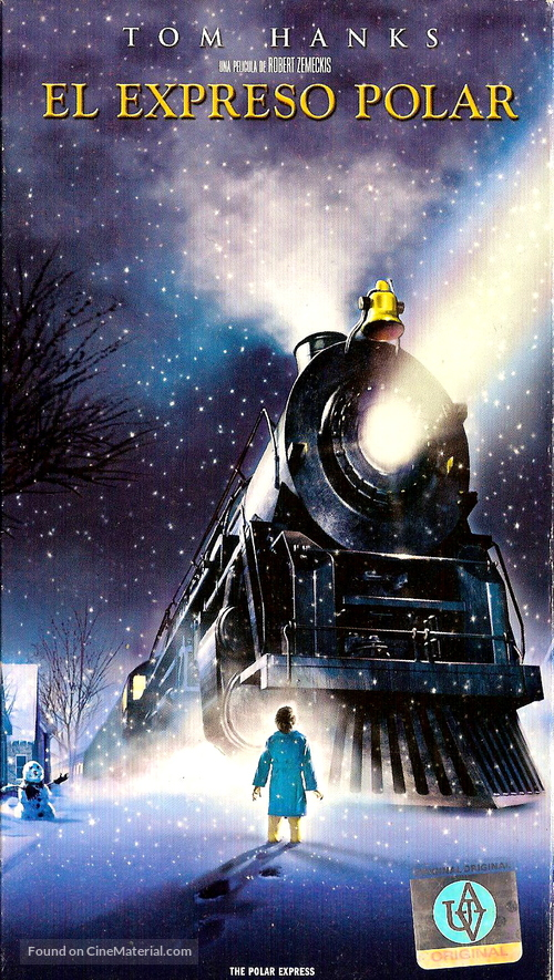The Polar Express - Argentinian VHS movie cover