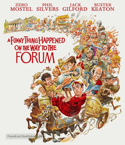 A Funny Thing Happened on the Way to the Forum - Blu-Ray cover