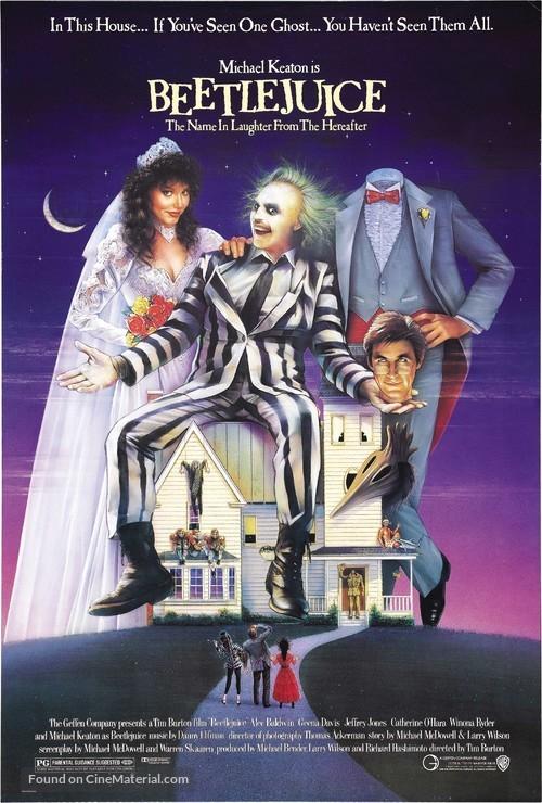 Beetle Juice - Movie Poster