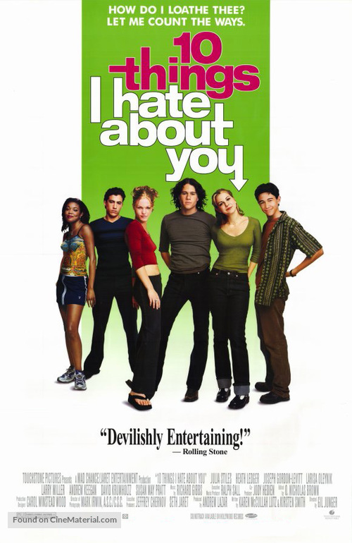 10 Things I Hate About You - Movie Poster