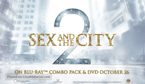 Sex and the City 2 - Canadian Video release movie poster
