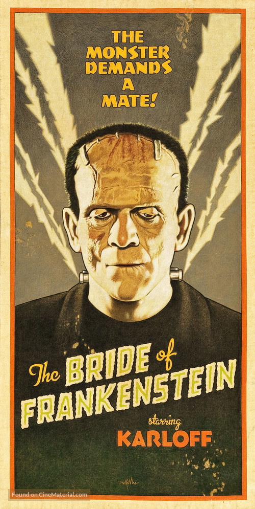 Bride of Frankenstein - Homage poster