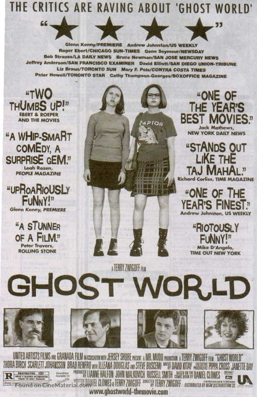 Ghost World - Movie Poster