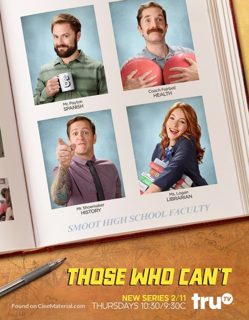 """Those Who Can't"" - Movie Poster"